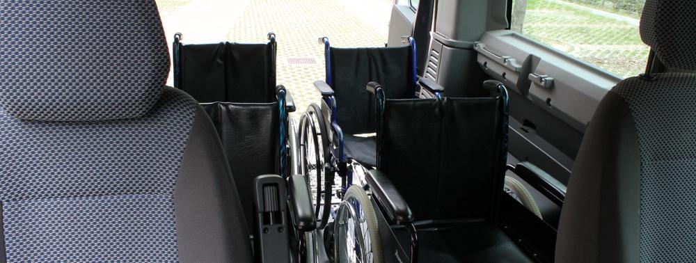 Mezzi speciali per trasporto disabili